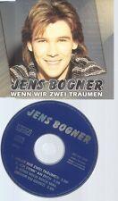 CD--JENS BOGNER -- - SINGLE -- WENN WIR ZWEI TRAEUMEN