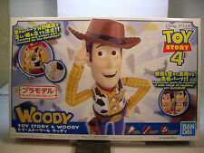 WOODY FROM TOY STORY 4 SNAP TOGETHER PLASTIC FIGURE KIT BY BAN DAI PLASTIC KIT