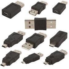 10 Pcs Mini Adaptateur Micro USB 2.0 5pin Conversion Câble OTG Mâle À Femelle NF