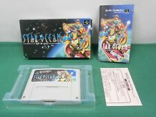 SNES -- STAR OCEAN -- Boxed. RPG. Can save. Super famicom. Japan Game. 16230
