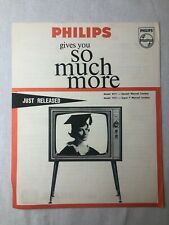 Vintage 1960's Model 8211 and 7211 Television Brochure