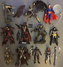 McFarlane Action Figure Lot! Spawn, Batman, Superman, Redeemer, More! See Pics!