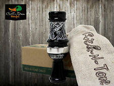 RNT RICH-N-TONE DAISY CUTTER TIMBER HAWG SINGLE REED DUCK CALL BLACK ACRYLIC