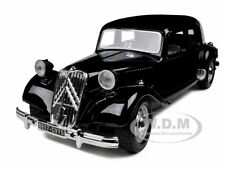 1938 CITROEN 15 CV TA BLACK 1/24 DIECAST CAR MODEL BY BBURAGO 22017