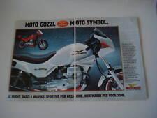 advertising Pubblicità 1985 MOTO GUZZI V 35 IMOLA II