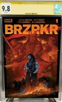 BRZRKR 1 (ONLY 750 MADE) SIGNED VANCE KELLY RED VARIANT CGC YELLOW LABEL 9.8 🔥