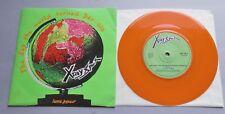 """X-Ray Spex-el día que el mundo se volvió Dayglo 1978 EMI Naranja Vinilo 7"""" P/S"""