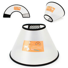 Funnel Cone Vet Smart Recovery Elizabethan Cat Lampshade Dog Collar Protector