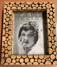 Kare Design Mountain Chic Pine Wood Mini Slices Photo Frame Photo Size 18 X 23cm