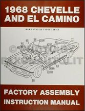 service repair manuals for 1968 chevrolet el camino for sale ebay rh ebay com 1970 El Camino 1970 El Camino