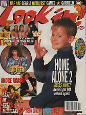 Look-In Magazine 5 December 1992   Macaulay Culkin   Jason Donovan  Andre Agassi