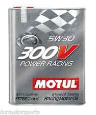 Huile Moteur Auto Motul 300V 5W30 Power Racing 2L *Frais de port dégressifs*