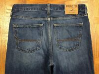 HOLLISTER CLASSIC STRAIGHT JEANS HAND MEASURED 33 x 32 Tag 31 x 32 BEST H68
