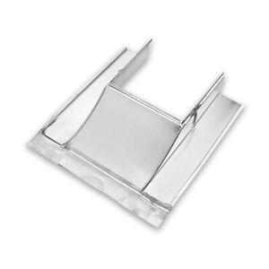 Kaminverwahrung Grömo Unterteil (Brustblech) Stahl verzinkt, verschiedene Größen