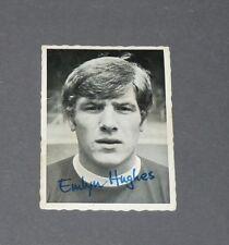 A & BC GUM CARD FOOTBALL ENGLAND 1969 EMLYN HUGHES LIVERPOOL REDS ANFIELD ROAD