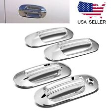 For 2003-2017 Ford Expedition / Lincoln Navigator 8pcs Chrome Door Handle Covers