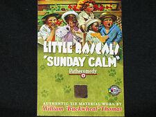 WILLIAM THOMAS  2008 BREYGENT  o'tay  BUCKWHEAT on the little rascals  WORN TIE