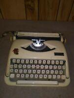 Super rare ABC vintage manual typewriter made for Hummel Munchen germany w/case