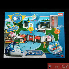RoboCar Poli Convertible Headquarter Rescue Station Playset for Die-cast figures