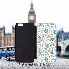 Disney Winnie The Pooh Floral Pattern Leather Flip Wallet Phone Case