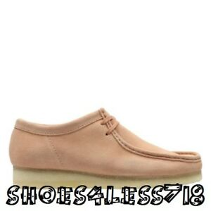 NEW CLARKS ORIGINAL MEN WALLABEE LOW LIMITED EDITION SAND STONE SUEDE MOCCASSIN