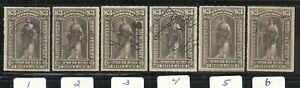 U.S. Revenue Documentary stamps scott r174 - $3.00 issues of 1898 - set #2
