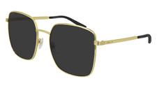Neues AngebotGucci Sonnenbrille GG0802S  001 Goldgrau - Frau