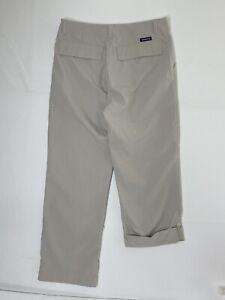 Patagonia Vintage Womens Size 8 Beige Nylon Hiking Pants