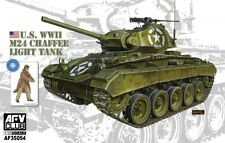 AFV Club 1/35 U.S. WWII M24 Chaffee Light Tank #35054 *new release*