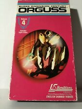 Orguss, V. 4 (VHS, 1993) Japanese Anime Super Dimension Century
