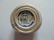 10% Off DMC Art. 167G - Cebelia 20 Wt. Ecru