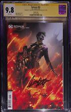 Batman #95 CGC SS 9.8 Signed By Francisco Mattina