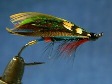 Classic flie for Atlantic salmon fly fishing - Black Dose (fully dressed) #1/0