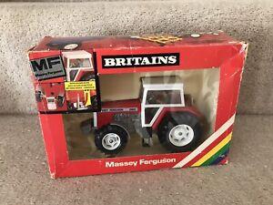 BRITAINS FARM TOYS MF Massey Ferguson 2680 Tractor GLAZED cab version BOXED VGC