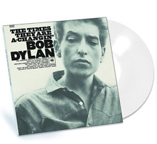 BOB DYLAN - THE TIMES THEY ARE A-CHANGIN' - LIMITED WHITE BLANC VINYL ALBUM 2017