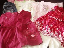 Baby Girl Clothing 9pc LOT 12 MONTHS Bodysuit Jeans Top Pants Carters TCP Infant