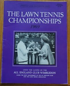 L.T.A. Championships Wimbledon 1969, Official programme 4th July, eleventh Day