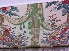 Brunschwig ET & Fils RAMM Fabric UK COLUMNS/URN large scale chintz stunning 3 yd