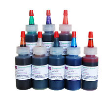 Resin Obsession transparent color pigments - set of 8 colors epoxy resin casting