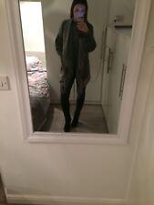 Roman Jacket Waistcoat Jumper Grey Size Small Size 10