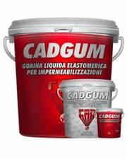 Guaina Liquida Impermeabilizzante 5 Colori Disponibili da 20Kg CAD GUM + Guanti