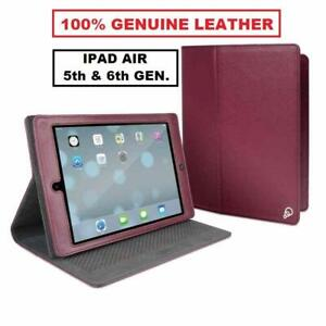 Genuine Leather Cygnett Archive Folio Case For Apple iPad Air, iPad 5th/6th Gen.