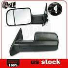 Power Heated Tow Mirrors For 2002-2008 Dodge Ram 1500 2003-2009 2500 3500