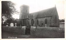 OXFORDSHIRE - LOWER HEYFORD,  Church  - Real Photo by Frank Packer