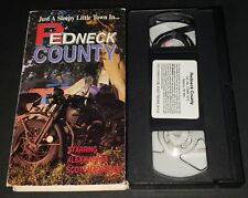 Redneck County (The Great Lester Boggs) VHS MNTEX OOP Alex Karras Scott McKenzie