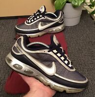 Nike Air Max 360◾2007◾Men's Size 9.5◾Navy/Silver/Black◾315380-401◾💥RARE!💥