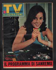 SORRISI 4/1965 007 J BOND CONNERY BLACKMAN EATON BIANCHI INZAINA PITNEY MUNSTERS