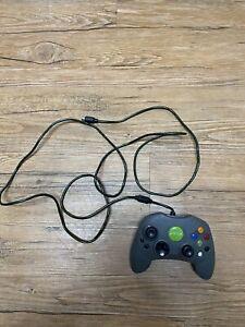 Original Xbox OEM Controller X0850203 GRAY SPARKLY Green Jewel Bezel S-TYPE