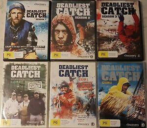 Deadliest Catch : Seasons 1 - 6  (DVD, 2006+, 26-Disc Set) Region 4