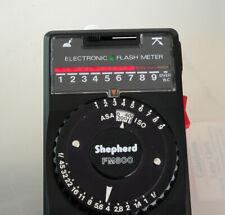 Shepherd FM800 Flash (& Ambient) Exposure Meter, Case & Instructions, Excellent